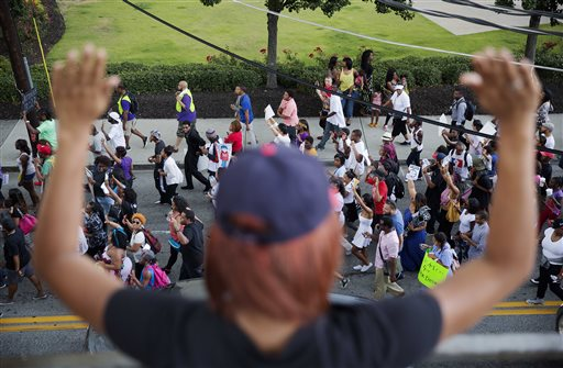 Ferguson Hands Up Photo Gallery