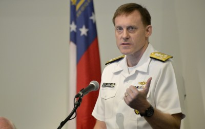 Adm. Michael S. Rogers, head of the NSA. This photo was taken in October 2014. (Michael Holahan/Augusta Chronicle via AP)