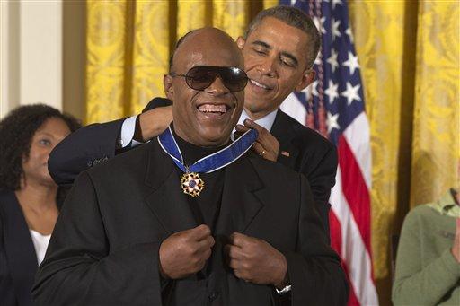 Barack Obama, Stevie Wonder