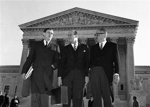 John Doar, Nicholas Katzenbach, Thurgood Marshall