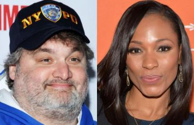 Comedian Artie Lange (left) and ESPN anchor Cari Champion (Courtesy of Complex)