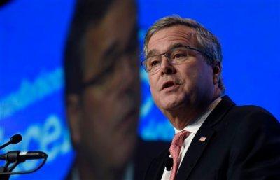 In this Nov. 20, 2014 file photo, former Florida Gov. Jeb Bush speaks in Washington. (AP Photo/Susan Walsh, File)