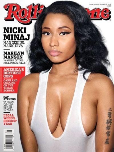 Nicki Minaj (Courtesy of Rolling Stone)