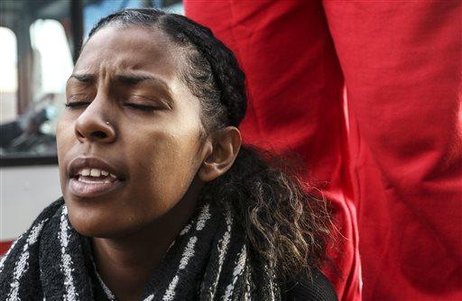 Protestors in Atlanta oppose Ferguson decision