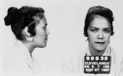 Police photos of Dollree Mapp in 1957. She resisted a search of her Cleveland home when officers could not produce a warrant (Associated Press)