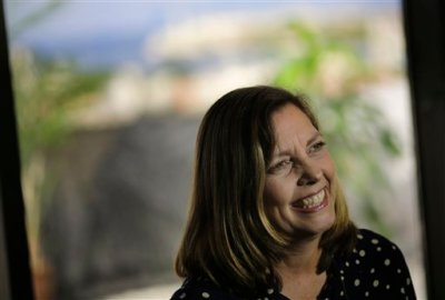 Cuba''s head of North American affairs, Josefina Vidal, speaks during an interview with The Associated Press in Havana, Cuba, Monday, Dec. 22, 2014. Cuba says it's open to every one of U.S. President Barack Obama's moves to improve relations between the two countries and strengthen private enterprise and civil society on the island. (AP Photo/Ramon Espinosa)