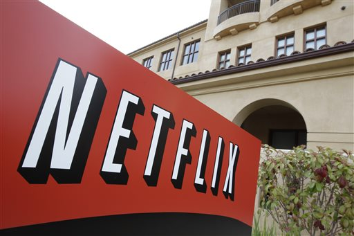 This March 20, 2012 file photo shows Netfilx headquarters in Los Gatos, Calif. Netflix is expected to release quarterly financial results after the market close on Tuesday, Jan. 20, 2015. (AP Photo/Paul Sakuma, File)