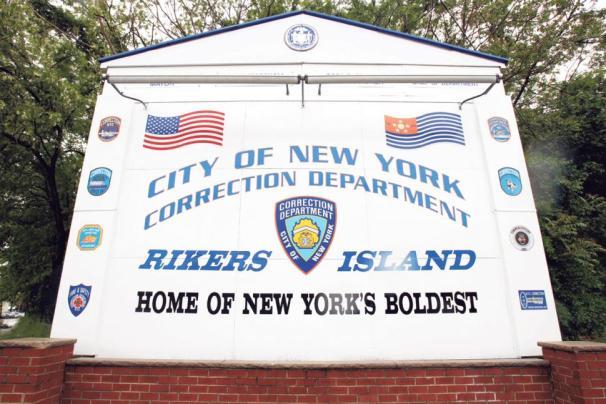 Rikers Island Correctional Facility (Seth Wenig/AP)