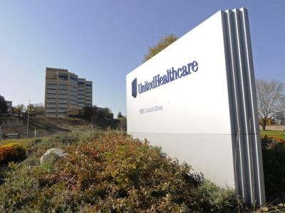 The UnitedHealth Group's campus in Minnetonka, Minn. (Jim Mone/AP Photo)