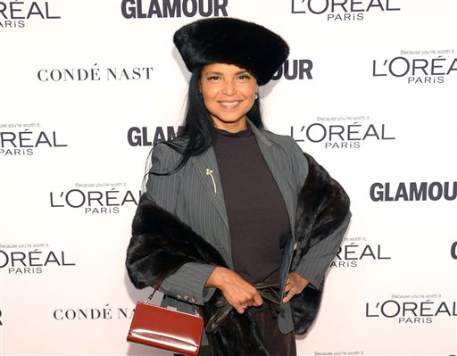 """FILE - In this Nov. 10, 2014 file photo, actress Victoria Rowell arrives at the 2014 Glamour Women of the Year Awards at Carnegie Hall in New York. Rowell has sued CBS and producers, saying they have kept her off a television show as retaliation for advocating the casting of more black people on soap operas. The 55-year-old Rowell is best known as a star of """"The Young and the Restless"""" for 17 years.  (Photo by Evan Agostini/Invision/AP, File)"""
