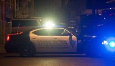 A Bridgeport Police Department vehicle (Douglas Healey/AP Photo)