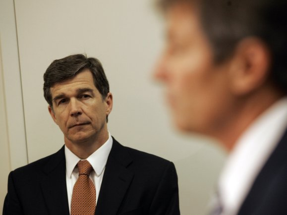 North Carolina Attorney General Roy Cooper in 2010. (Jim R. Bounds/AP)