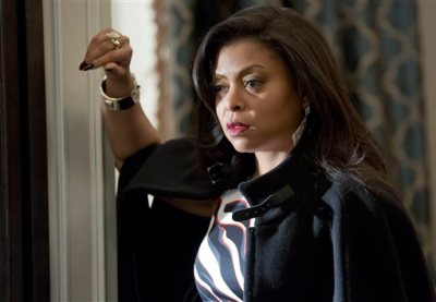 "This photo provided by Fox shows, Taraji P. Henson as Cookie, in a scene from the special two-hour ""Die But Once/Who I Am"" Season Finale episode of ""Empire,"" airing Wednesday, March 18, 2015, (8:00-10:00 p.m. ET/PT) on Fox. (AP Photo/Fox, Chuck Hodes)"