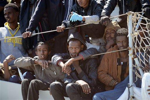 APTOPIX Italy Europe Migrants