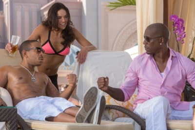 Ludacris, Michelle Rodriguez and Tyrese GIbson co-star in 'Fast & Furious 7.'