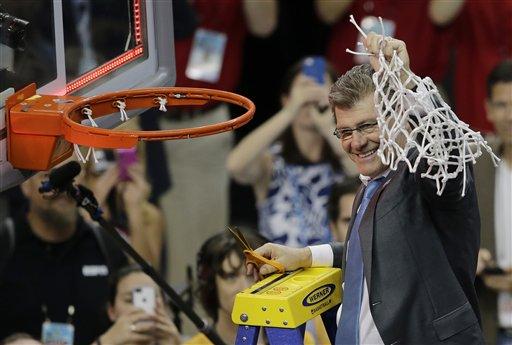 NCAA Notre Dame UConn Final Four Basketball
