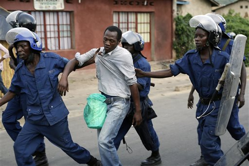 Burundi-Political Tensions