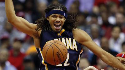 Authorities say Indiana Pacers forward Chris Copeland, his wife and another woman were stabbed outside a Manhattan nightclub after an argument. (Alex Brandon/AP Photo)