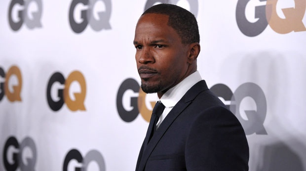 """Jamie Foxx attends the GQ """"Men Of The Year"""" party at the Chateau Marmont on Tuesday, Nov. 13, 2012, in Los Angeles. (Photo by John Shearer/Invision/AP)"""