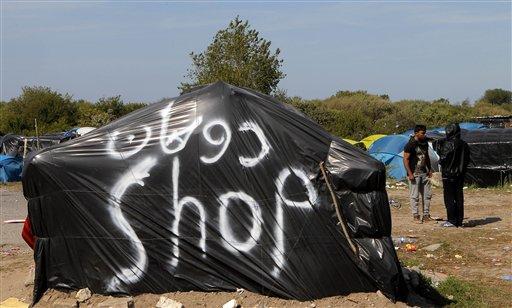 France Calais Migrants