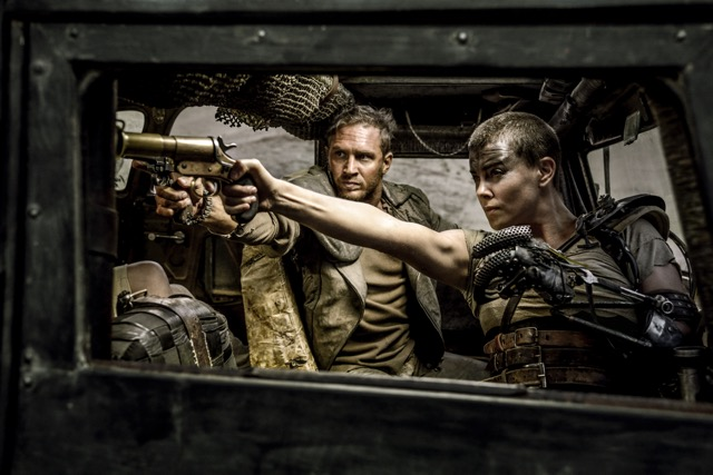1. Tom Hardy and Charlize Theron in Mad Max Fury Road FRD-19618r