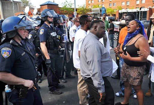Baltimore Police Death Arrest