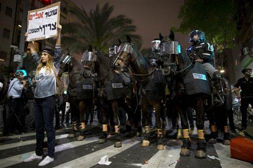 APTOPIX Mideast Israel Ethiopians Protest