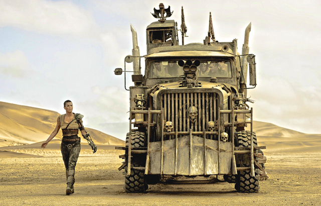 4. Charlize Theron in Mad Max Fury Road