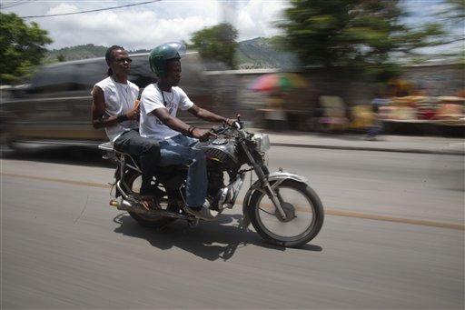 Haiti Motorcycle Madness