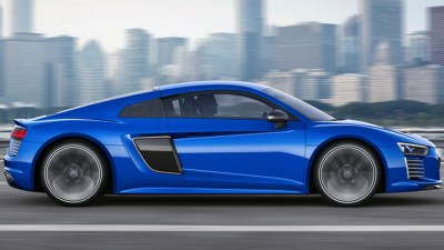 The Audi R8 e-tron piloted driving concept car (Courtesy of Audi)