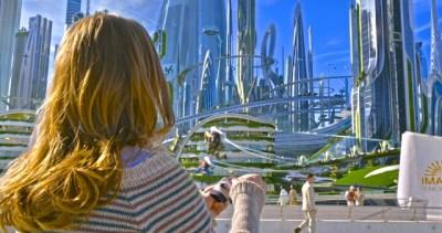 Britt Robertson co-stars in the fantasy adventure Tomorrowland. (BG)