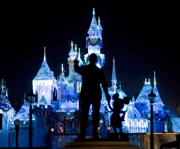 Sleeping Beauty's Castle at Disneyland in Anaheim, Calif. (AP Photo/The Orange County Register/H. Lorren Au Jr.)
