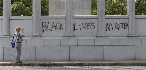 Davis Statue Vandalized