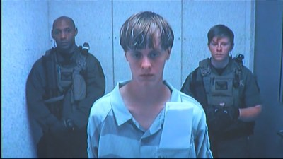 Dylann Roof at his arraignment on Friday, June 19, 2015