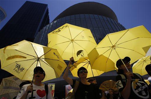 APTOPIX Hong Kong Democracy