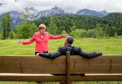APTOPIX Germany G-7 Summit