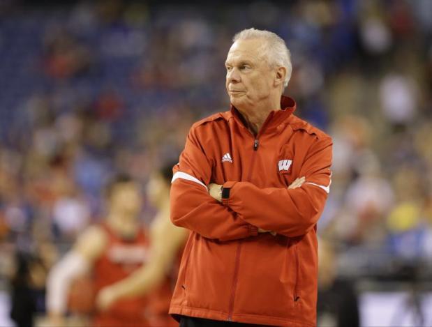 University of Wisconsin basketball coach, Bo Ryan announced his plans to retire, June 29, 2015. (AP Photo/Michael Conroy)