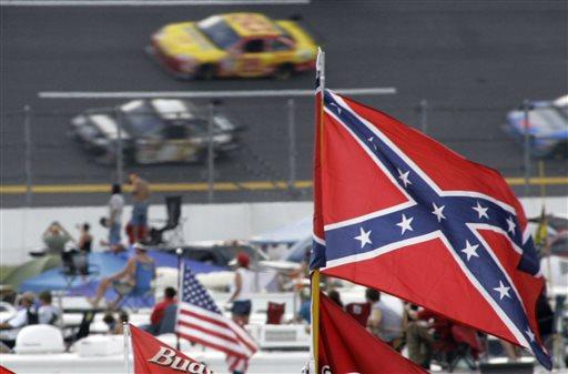 Confederate Flag NASCAR Auto Racing