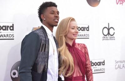 Nick Young and Iggy Azalea at the Billboard Music Awards in May. (John Shearer/Invision/AP)