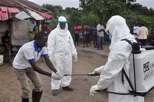 Liberia Ebola West Africa
