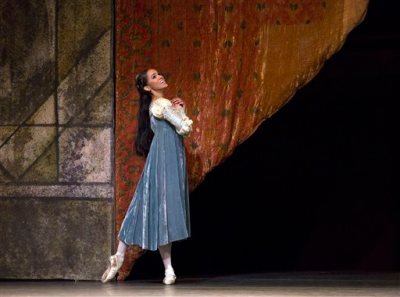 "In this June 15, 2015 photo released by the American Ballet Theatre, dancer Misty Copeland performs in ""Romeo and Juliet."" Copeland, the Missouri-born dancer who has become a forceful voice for diversity in ballet and a rare celebrity in that field, was named principal dancer at American Ballet Theatre on Tuesday, June 30, the first African-American ballerina to achieve that status in the company's 75-year history. (Rosalie O'Connor/American Ballet Theatre via AP)"