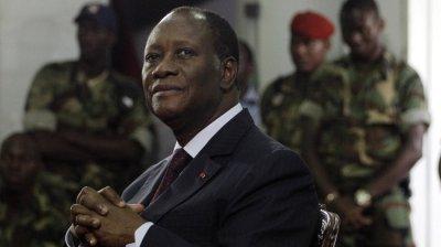 Ivory Coast President Alassane Ouattara (Rebecca Blackwell/AP Photo)
