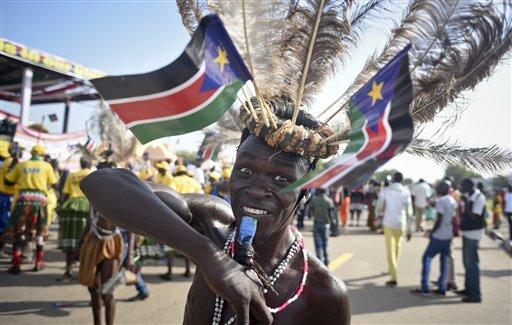 APTOPIX South Sudan Independence Anniversary