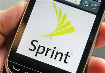 In this  July 29, 2013, photo, a Sprint logo is displayed on a smart phone in Montpelier, Vt. Sprint is offering DirecTV customers one free year of cellphone service in a bold move aimed at the satellite TV company's new owner, AT&T. AT&T, which bought DirecTV for $48.5 billion in July, 2015, has been promoting a bundle that knocks $10 a month off a combined bill for video and wireless phone service. (AP Photo/Toby Talbot, File)