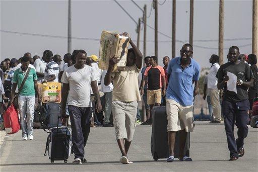 Mideast Israel Migrants