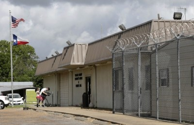 The Waller County Jail in Hempstead, Tex., where Sandra Bland died last month. (Pat Sullivan/AP)