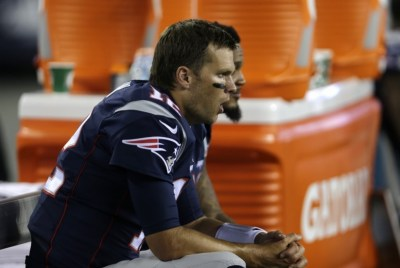 Tom Brady's guilt or innocence has not been at issue for some time in the DeflateGate drama. (Charles Krupa/AP Photo)