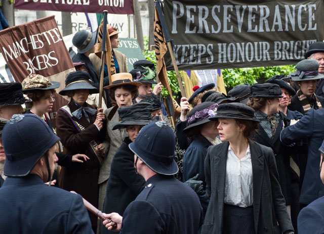 Carey Mulligan stars in the drama Suffragette. (Focus Features)