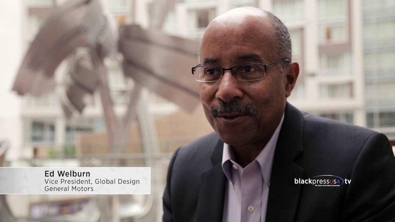 General Motors Global Design Chief Ed Welburn talks to the Black Press
