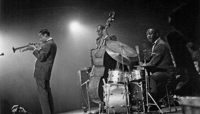 Lee Morgan with Art Blakey and the Jazz Messengers. (Meerendonk)